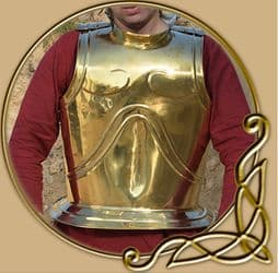 LARP Greek breast and back plate