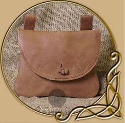 LARP Leather bag with belt loops