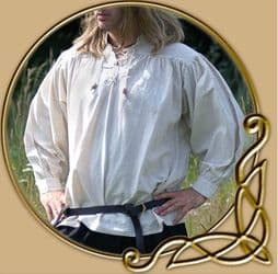 LARP Medieval shirt with laces