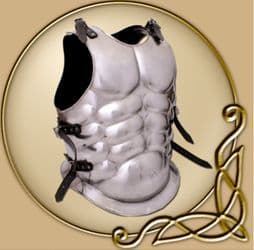 LARP Platemail Muscle breast and back plate