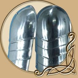 LARP Platemail - Shoulderplates - Mercenary