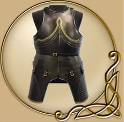 LARP Polyurethane Decorative Gothic Cuirass