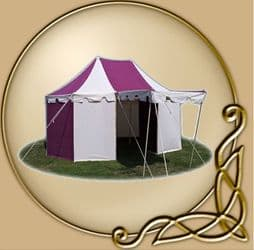 LARP tent Anthenius 170 - Two Mast - 4 x 6m